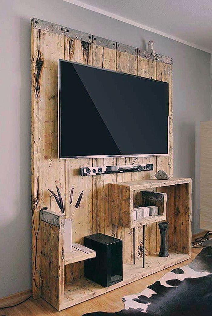 meuble tv palette le recyclage en