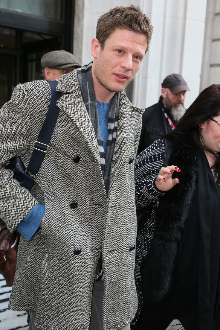James Norton leaving the BBC Radio 2 studios in London ...