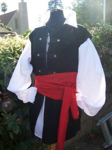 4 piece Mens Renaissance costume buccaneer by RebeccasRenaissance7