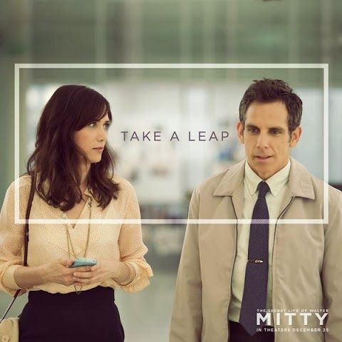 Take a LEAP Kristen-Wiig-and-Ben-Stiller-in-the-Secret-Life of Walter Mitty