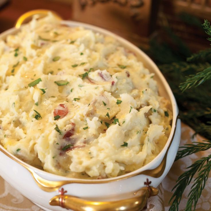 Parmesan Truffle Mashed Potatoes - Southern Lady Magazine