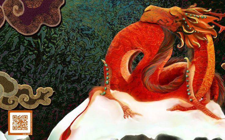 """Leicia Gotlibowski illustration for """"Diario de Dragones""""."""