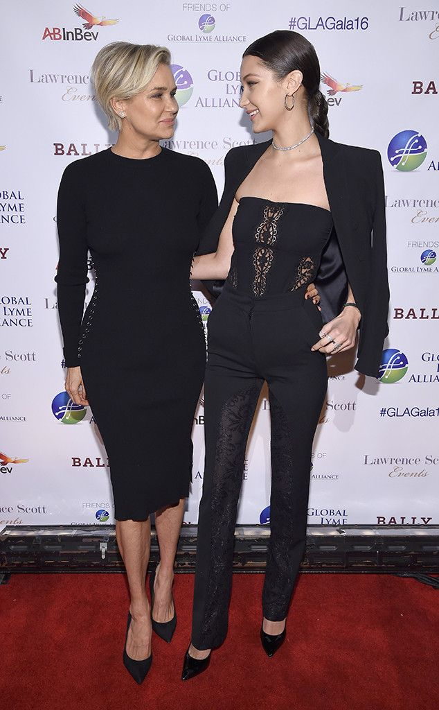Yolanda Hadid & Bella Hadid from The Big Picture: Today's Hot Pics | E! Online