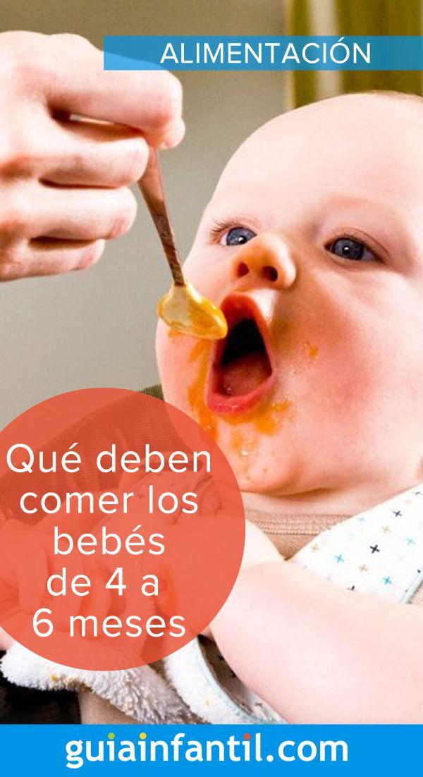 La Mejor Alimentacion Para Bebes De 4 A 6 Meses Alimentacion