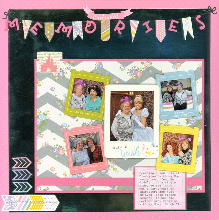Enchanted Memories - Scrapbook.com