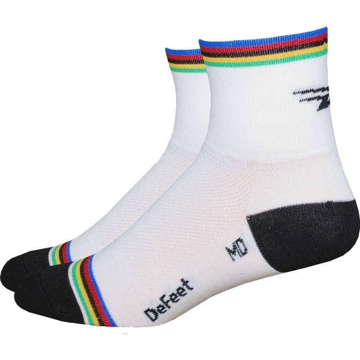 DeFeet Aireator World Champion Socks   Cycling Socks