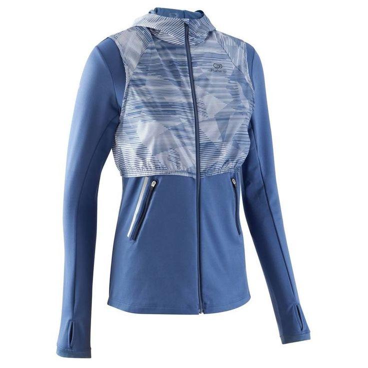 Veste running femme temps froid