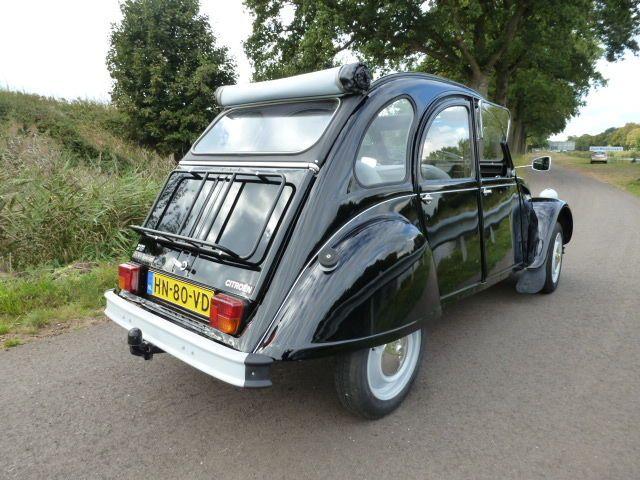 Citroën - 2cv6 Special noir - 1982