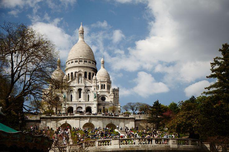 Sacre Coeur, Montemartre, Paris May 2013 by Karin Henriques
