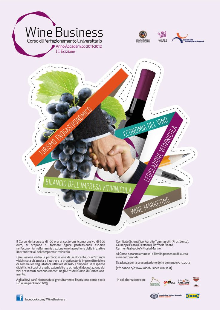 Corso in #Wine #Business all'Università di Salerno