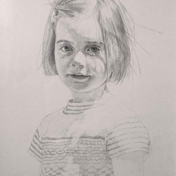 Paul Brason – Mary Rees-Mogg. Pencil 56 x 40cm