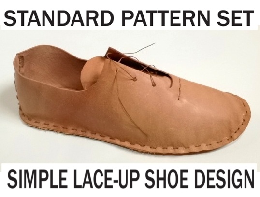 $18 - shipping included     The Standard Pattern Set includes thirteen sizes and will accommodate most feet that are 7 inches to 12 inches from heel to toe. Instructions are included.