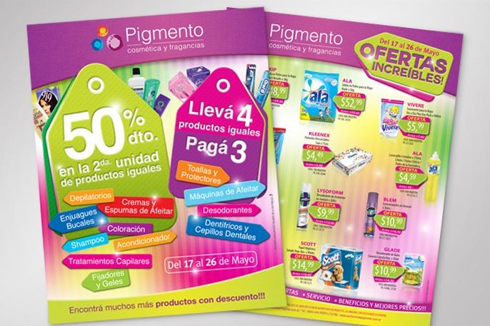 Pigmento / Piezas Promocionales / Print