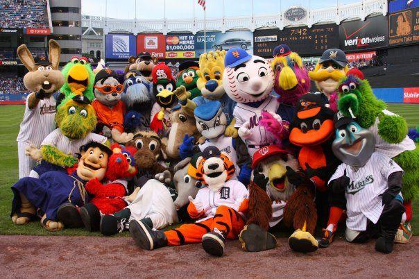 images of the cardinals baseball team mascot | How to be a baseball mascot part 1, pregame