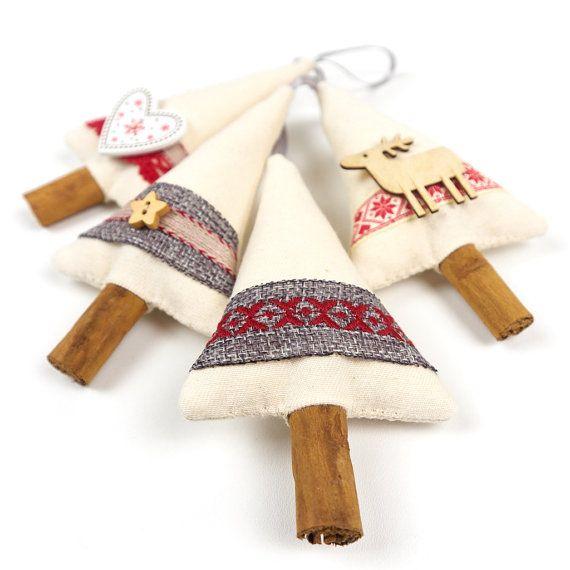Primitive Country Christmas Rustic Decor Cinnamon by SongoftheSeam