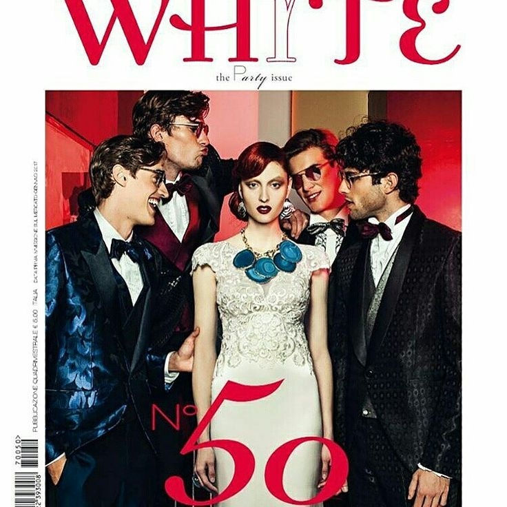 """White 50 """"the Party issue"""" january 2017"""