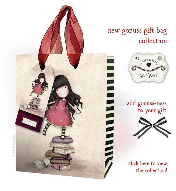 News from Santoro: New Gorjuss Gift Bag Collection. Shop the collection here: http://www.santoro-london.com/shop/collections/gorjuss/