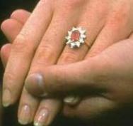 Engagement ring of Sarah, Duchess of York