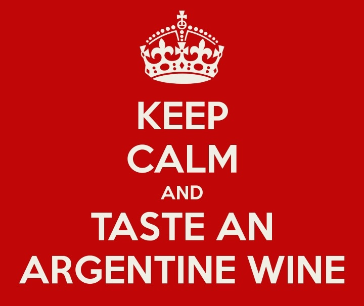 Argentinian wine, nothing better.