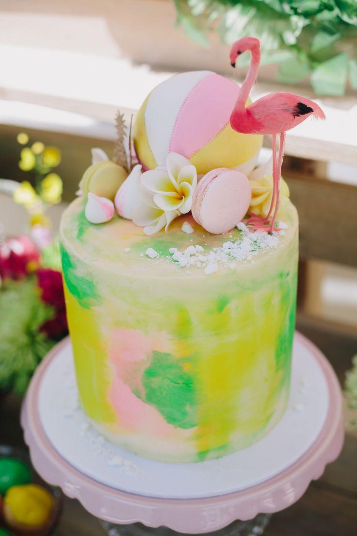 176 Best Flamingo Cakes Images On Pinterest Amazing Cakes Conch