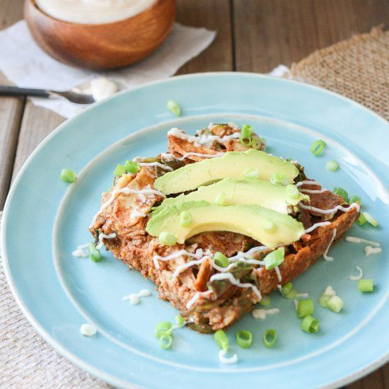 Enchiladas meet kid's food for this veggie filled meal, Enchilada Noodles. Easy to throw together, healthy and flavorful.