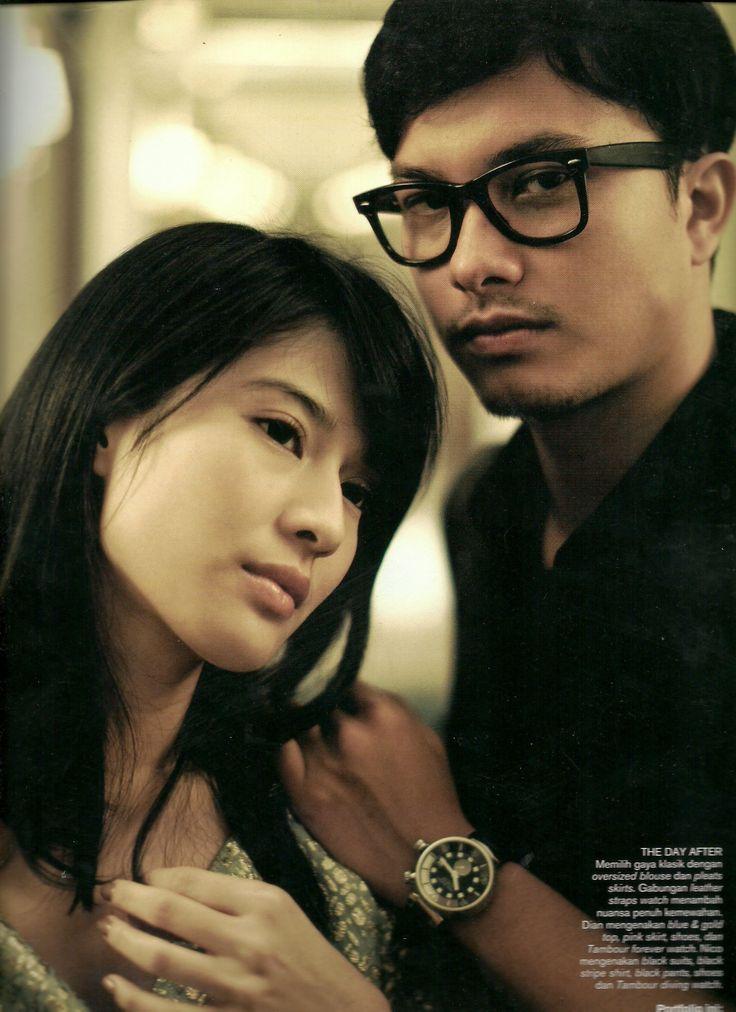 Dian Sastrowardoyo - Nicholas Saputra (Harper's Bazaar Indonesia)