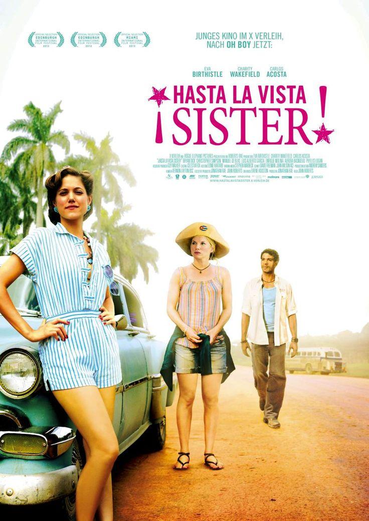 Filmtitel: Hasta la vista Sister, Titelschrift: Trade Gothic Condensed, Minion, http://www.fontshop.com/fonts/downloads/linotype/trade_gothic_std_bold_condensed_20/ot_ps?&fg=000000&bg=ffffff&sample_size=60&sample_text=HASTA%20LA%20VISTA&ft=liga http://www.fontshop.com/fonts/downloads/adobe/minion_pro_volume/ot_ps?&fg=000000&bg=ffffff&sample_size=60&sample_text=SISTER&ft=liga