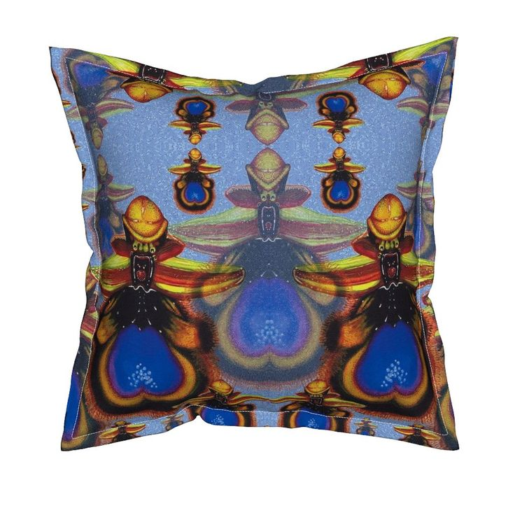 Serama Throw Pillow featuring O.Speculum by joancaronil   Roostery Home Decor