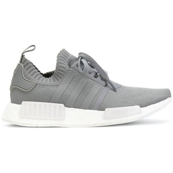 Adidas Adidas Originals NMD_R1 Primeknit sneakers ($189) ? liked on  Polyvore featuring shoes,