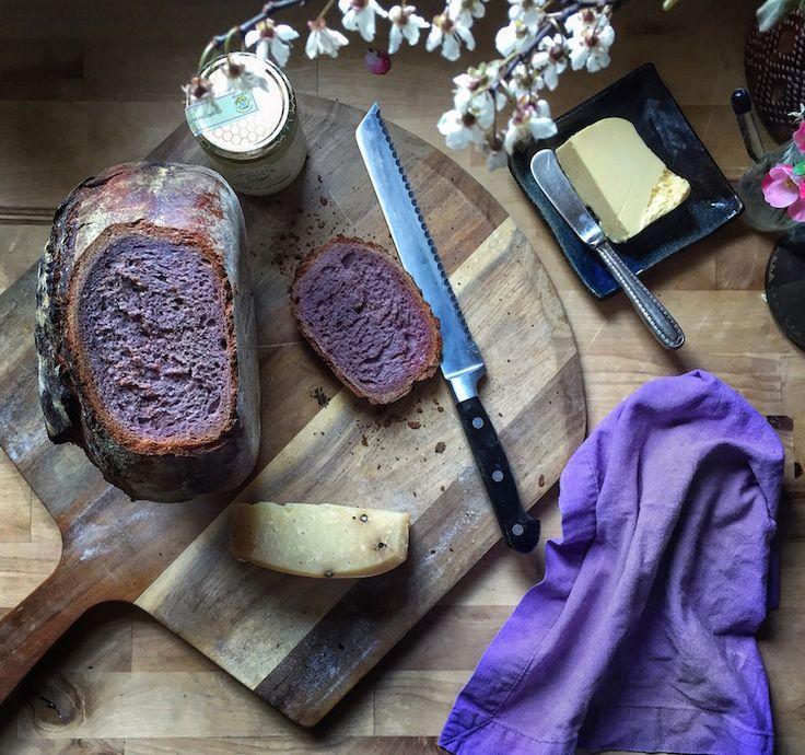 Rye Bread with Purple Carrots