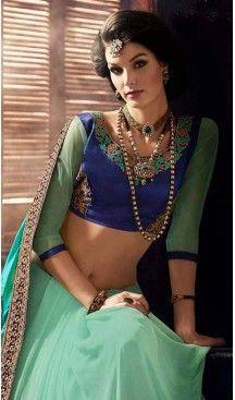 Turquoise Color Georgette Designer Wear Style Saris Blouse | Follow @heenastyle << #designersarees, #partywearsareesonline, #sareeonline, #latestcollection, #bridalsaree, #cottonsaree, #bollywoodsarees, #onlineladiessarees, #sarees, #sari, #saris, #saree, #designersaris, #festivalssaris, #shoppingsareesonline, #onlineindiandesignerbollywoodsarees, #fashionsaris, #weddingsarees, #newstylistIndiansarees, #silksaree, #heenastyle, #heenastylesari #hennasari, #readytowaersaree, #lehengasaree