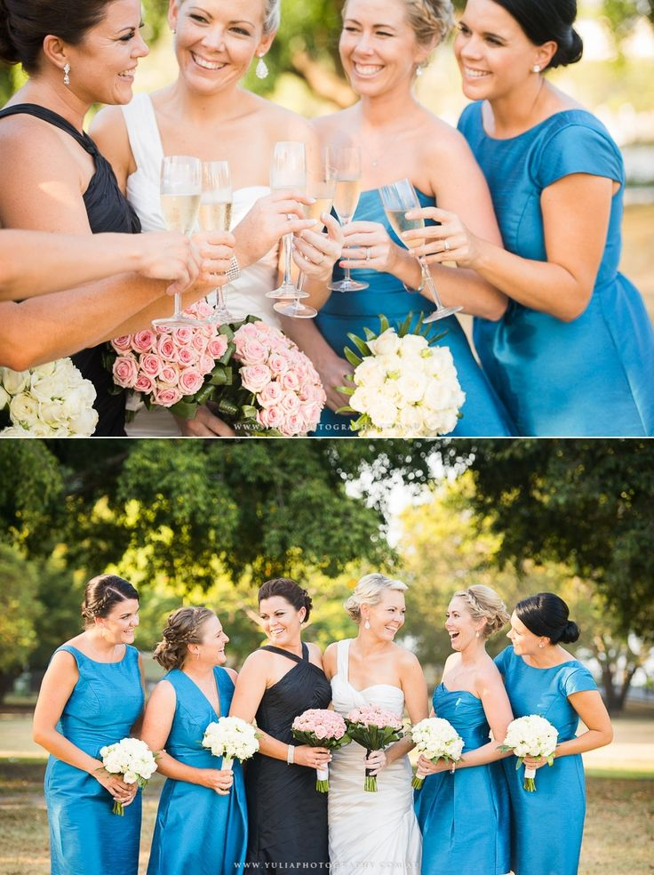 Two brides wedding dress ideas. Female bridal party ideas. In love with this stunning wedding! ~Sydney wedding photography by Yulia Photography~ www.yuliaphotography.com.au