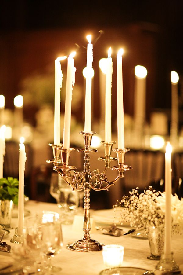 Best candelabra centerpiece ideas on pinterest