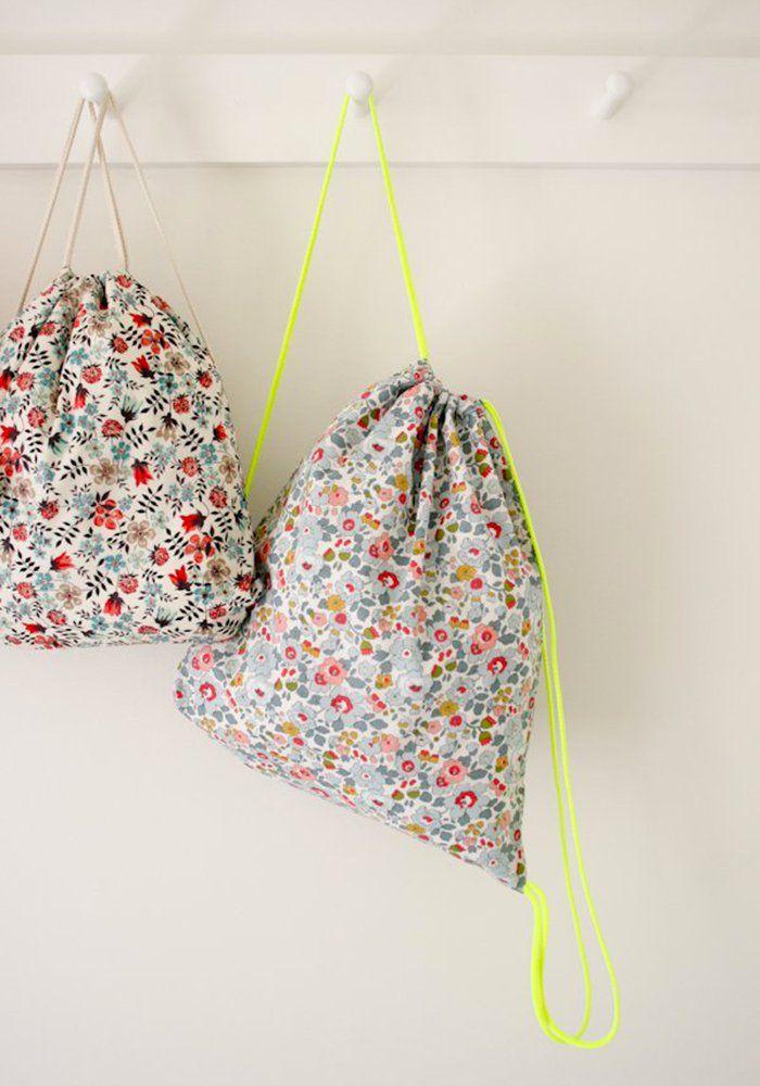 9 DIY pour coudre un sac à dos pour enfant                                                                                                                                                                                 Plus