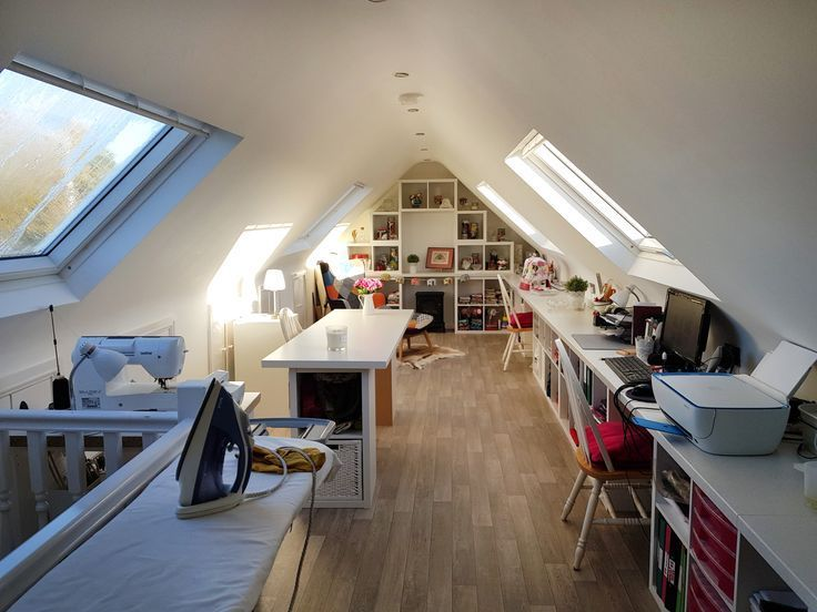 New Sewing Room Tour Attic Craft Rooms Loft Room Home