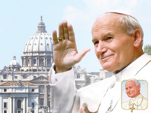The Lives of the Saints: Blessed Pope John Paul II #catechist #catholic