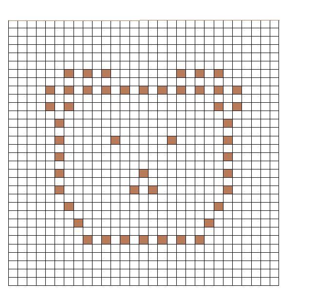 65 best Popcornsteek (bobble chart) images on Pinterest Patterns - free chart