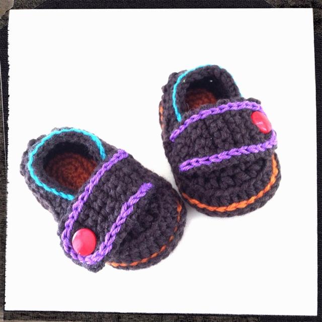 Crochet Babyshoes