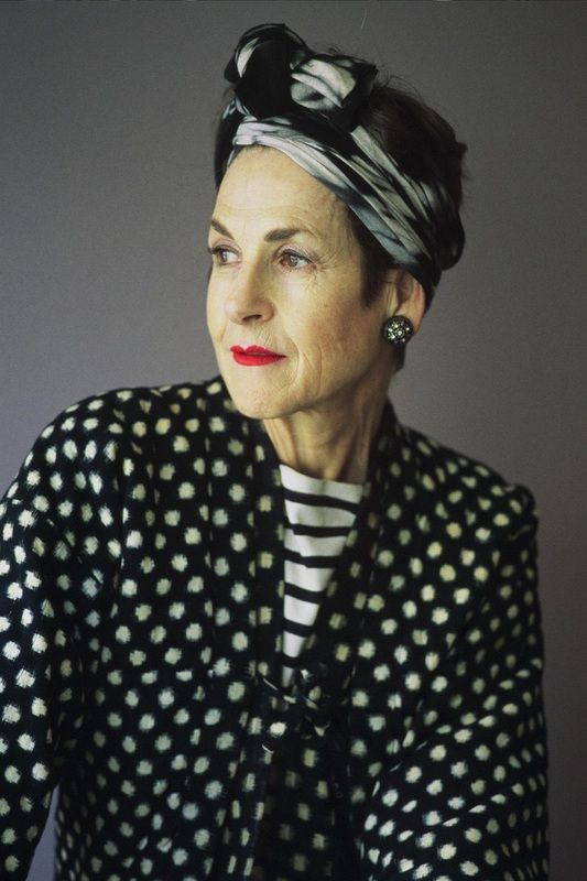 Tziporah Salamon is a stylist, performance artist, model, and legendary style icon aged 65 in 2014