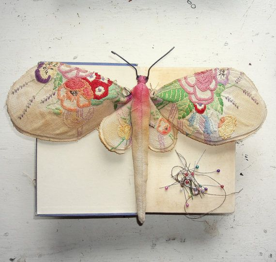 Things have been back to insects lately in my studio.  I love them and return to them as a muse time and time again.  This time its Moths.  I love