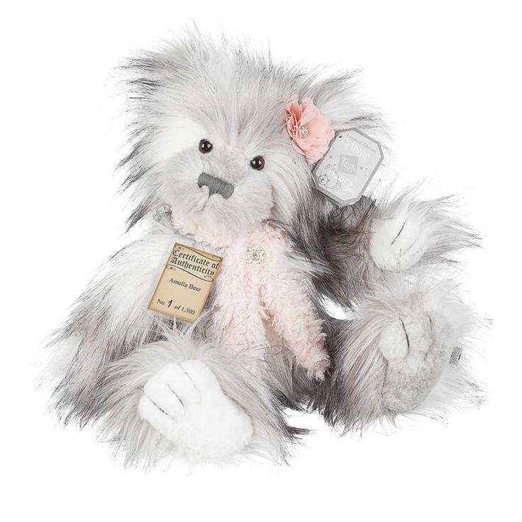 Suki Teddy Bear Amelia - Silver Tag Bear - Collection 4