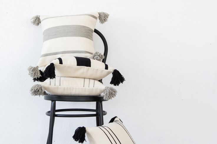 Capsule x Tejido - Liven up your space with fun and modern throw pillows