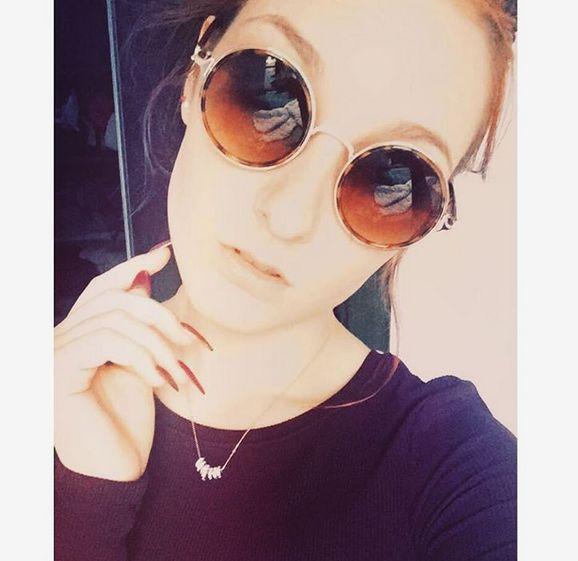 Maia Lasota w naszym naszyjniku <3 Piękna!!  #bydziubeka #jewellery #jewelry #fashion #style #look #ootd #celebrity #stars