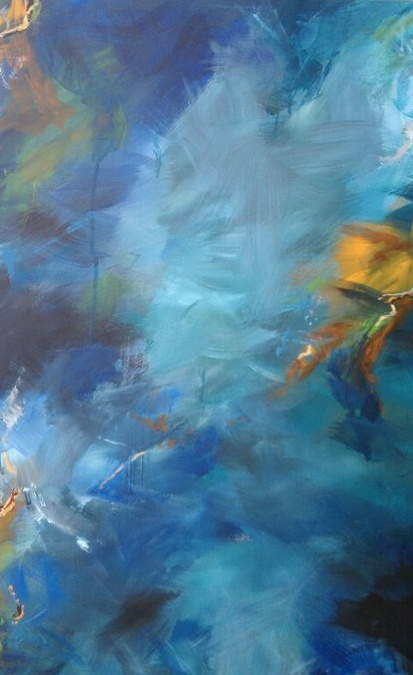 One of my paintings that is at Aspen Art Gallery