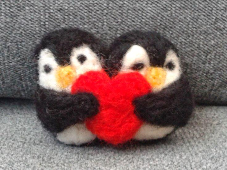 Zakochane pingwiny