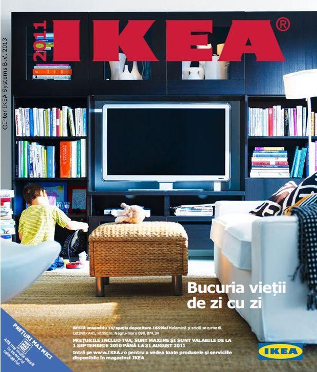 Catalogul IKEA 2011, 376 pagini cu soluții de care să te bucuri în fiecare zi.