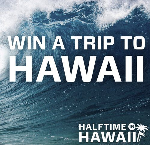The Prize will consist of a $5,000.00 trip for two to the Game in Honolulu, Hawaii with everything you need to have fun. Various ways to enter.