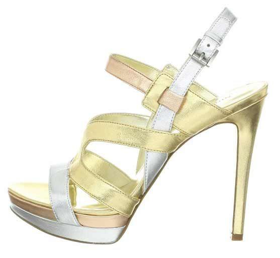 1000  ideas about High Heels Gold on Pinterest | Gold high heels