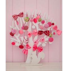 tree for baby girl hair clips