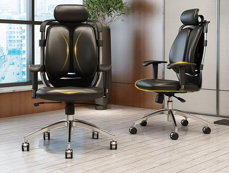 Free shipping home computer chairs. Can lie office chair. Protection of waist and back of a chair/a chair for me